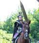 コスプレDE乗馬