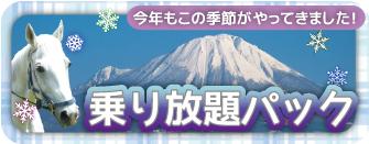 【冬期限定】冬の乗り放題パック