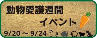 動物愛護週間(2018年9月)